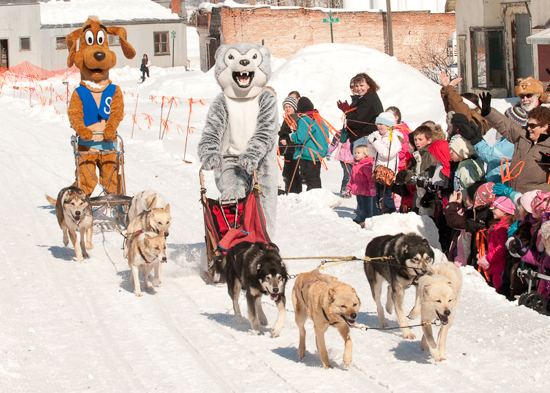 NF Husky wins Slyde the Playground Hound in celebrity race